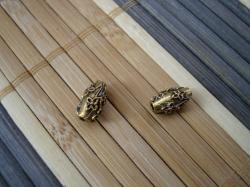10222 Бусина-трубочка «Лютик»