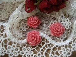11968 Камея «Коралловая роза».