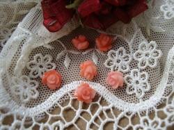 11977 Камея «Коралловая розочка».