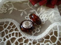 14131 Подвеска-шарм «Королевский янтарь»
