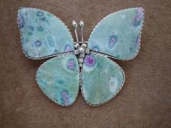 04921 Брошь «Каменная бабочка»