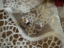 14804 Подвеска-шарм «Цветок с капельками росы»