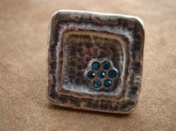 05484 Кольцо «Цветочная геометрия»