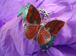 05890 Браслет «Яшмовая бабочка»