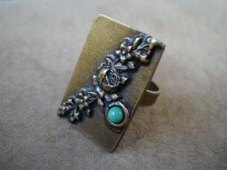 07495 Кольцо «Античная роза»