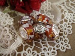 14155 Подвеска-шарм «Медовый цвет»