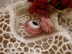 20526 Подвеска-шарм «Розовая лента»