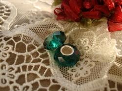 22136 Подвеска-шарм «Emerald»