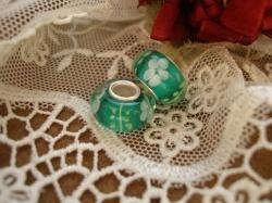 24112 Подвеска-шарм «Цветок папоротника»