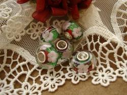 24846 Подвеска-шарм «Рождественский цветок»