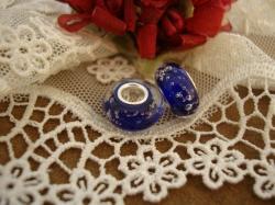25575 Подвеска-шарм «Фиолетовые пузырьки».
